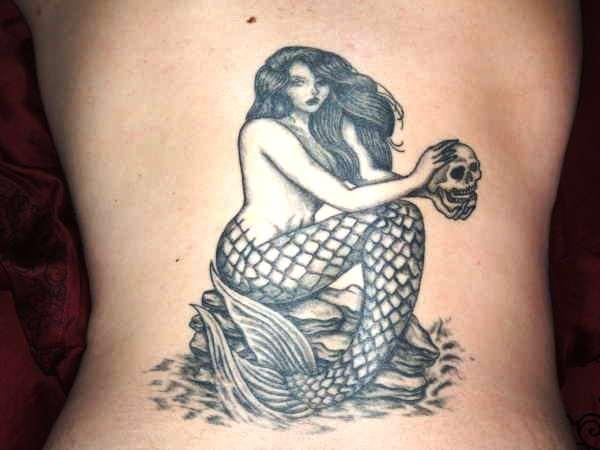 Back Mermaid