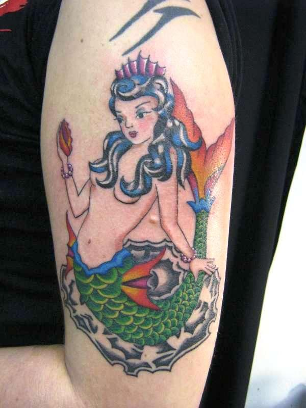 cool arm mermaid 35 Spectacular Mermaid Tattoos