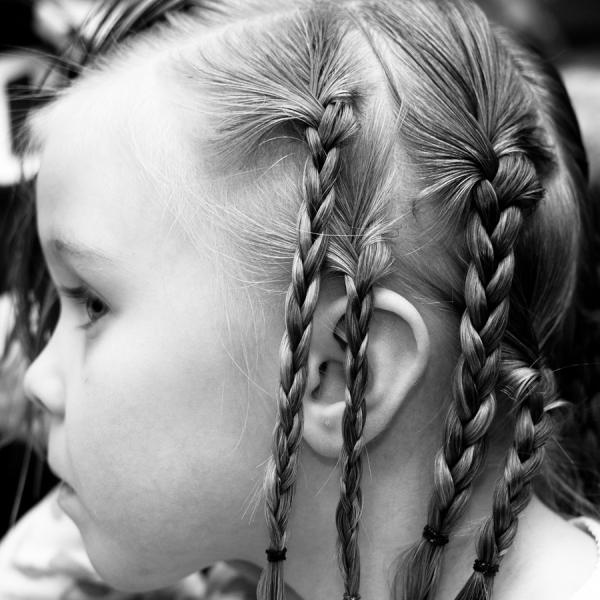 innocent braids 30 Cool Micro Braids Hairstyles