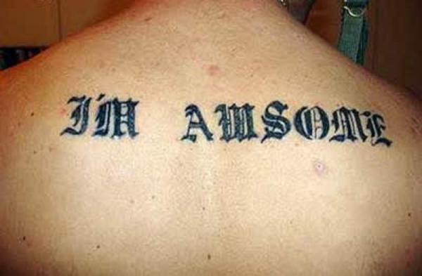 Awesome Misspelled Tattoo