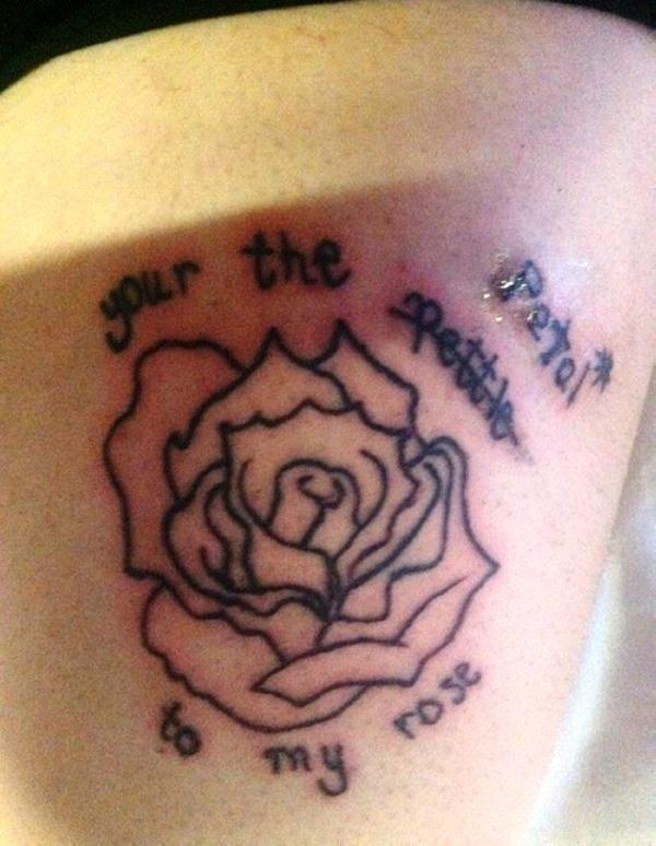 your petal 30 Misspelled Tattoos To Make You Laugh