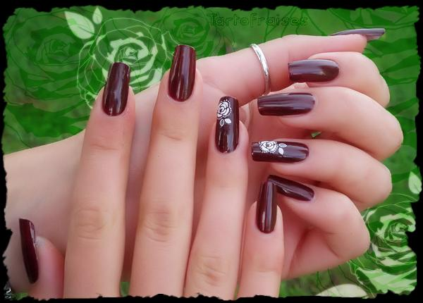 Beautiful Brown Nail Polish