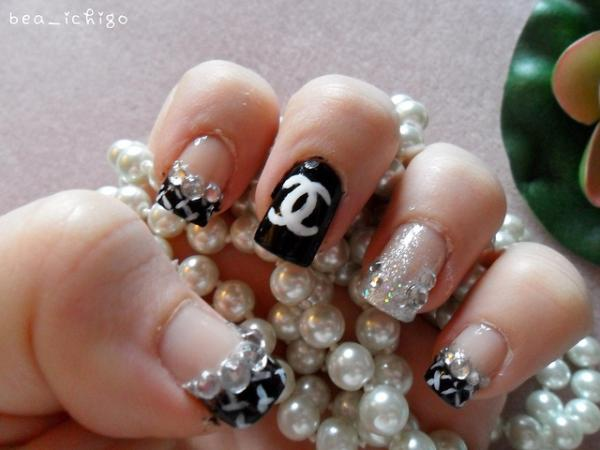 Chanel nail designs pictures images nail art and nail design ideas chanel nail designs best nails 2018 nail designs chanel art prinsesfo images prinsesfo Image collections