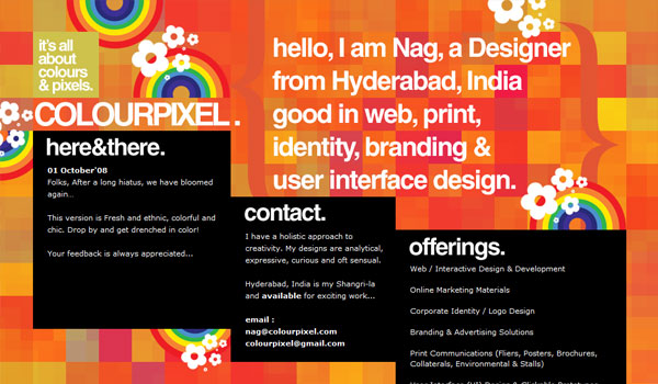 colour pixel 30 Orange Website Designs Which Look Stunning