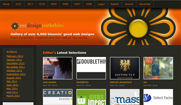 css design yorkshire 30 Orange Website Designs Which Look Stunning
