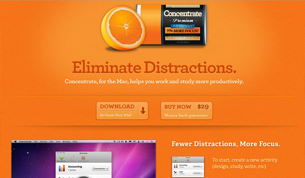 get concentrating 30 Orange Website Designs Which Look Stunning