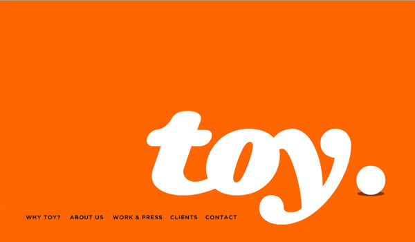 toy 30 Orange Website Designs Which Look Stunning