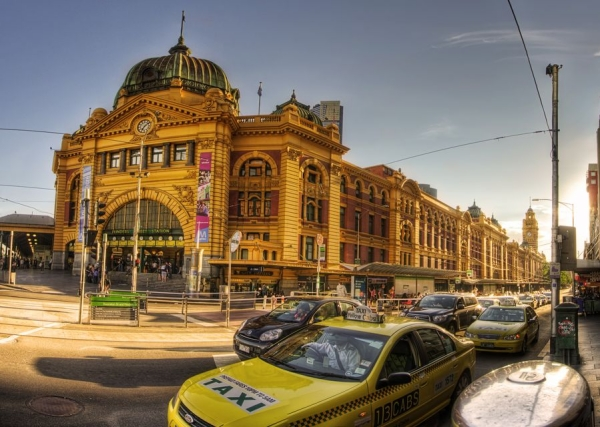 flinders street station 35 Breath Taking Panorama Photos