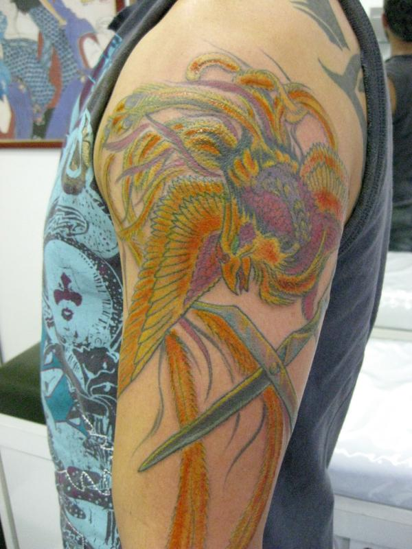 tatuagem fenix phoenix tattoo 50 Wonderful Phoenix Tattoo Designs