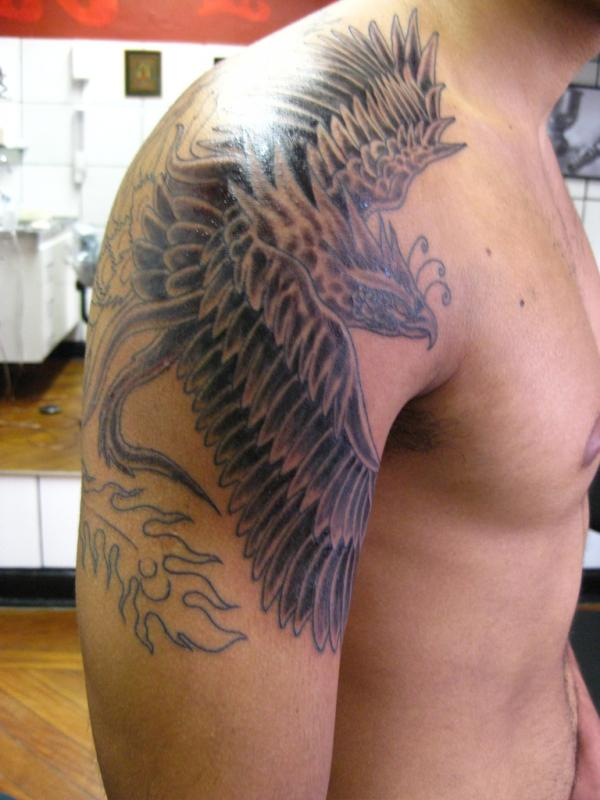 tatuagem fenix phoenix 50 Wonderful Phoenix Tattoo Designs