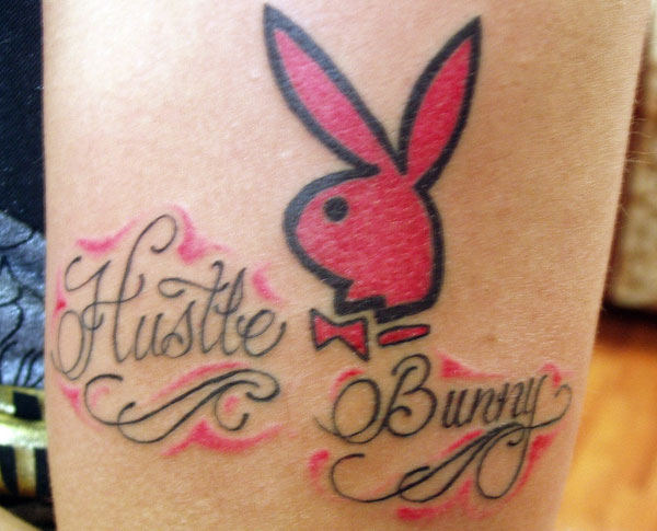 hustle bunny 30 Playboy Bunny Tattoos Which Look Sexy