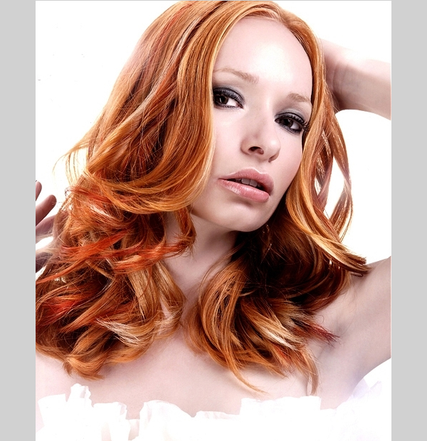 30 sexy red hair with blonde highlights slodive trendy girl pmusecretfo Images