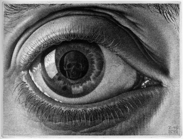 skull eye 30 Scary Optical Illusions To Charge Your Wits