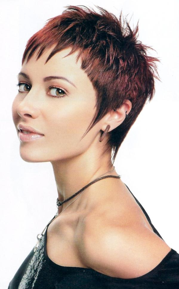 Very Short Spiky Hairstyles for Women