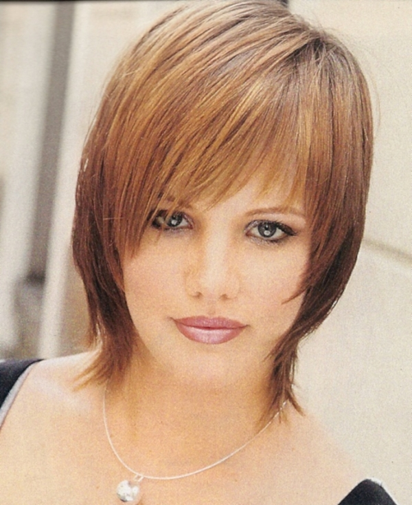 cute shag 30 Nicest Short Shag Hairstyles