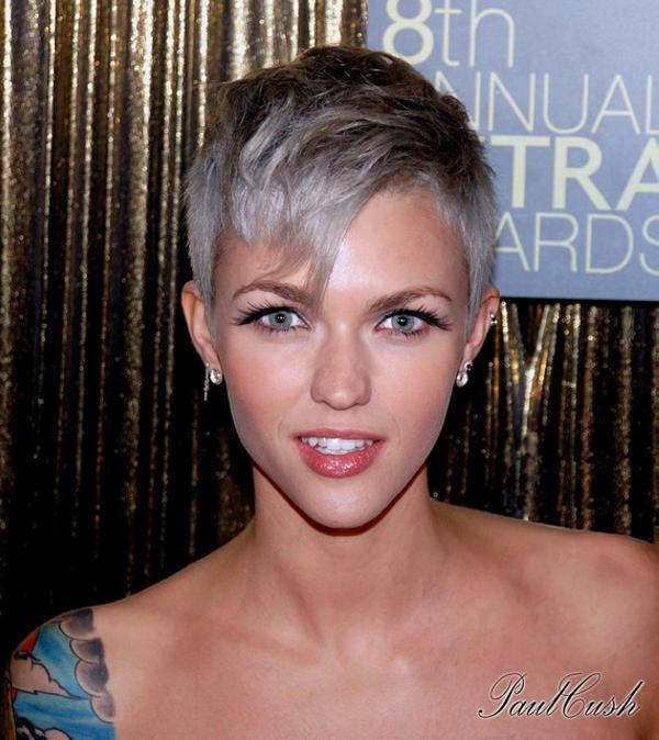 ruby rose 30 Nicest Short Shag Hairstyles