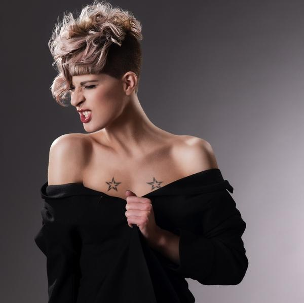 star moody 30 Nicest Short Shag Hairstyles