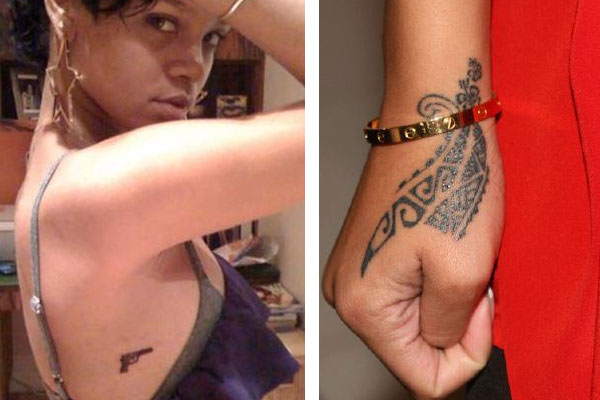 rihanna tattoo 80 Side Tattoos Which Are Sensational