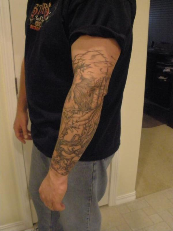 Side Sleeve Tattoo