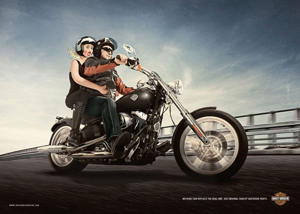 harleydavidson 30 Sophisticated Ads To Give You Great Inspiration