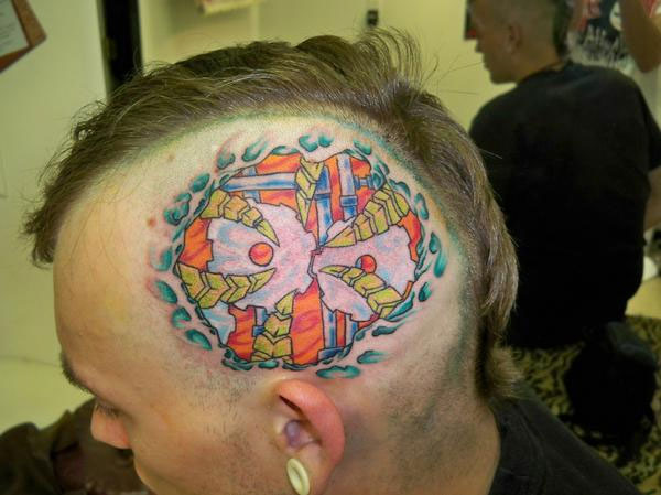 Head Tattoo