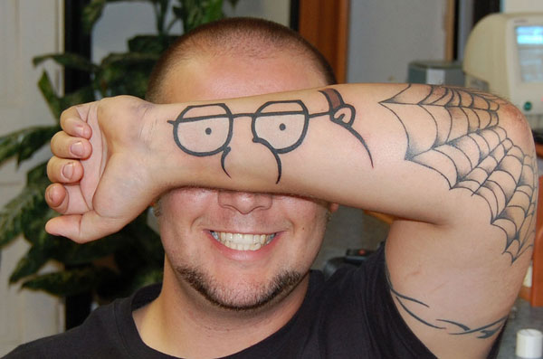 Peter Funny Tattoo
