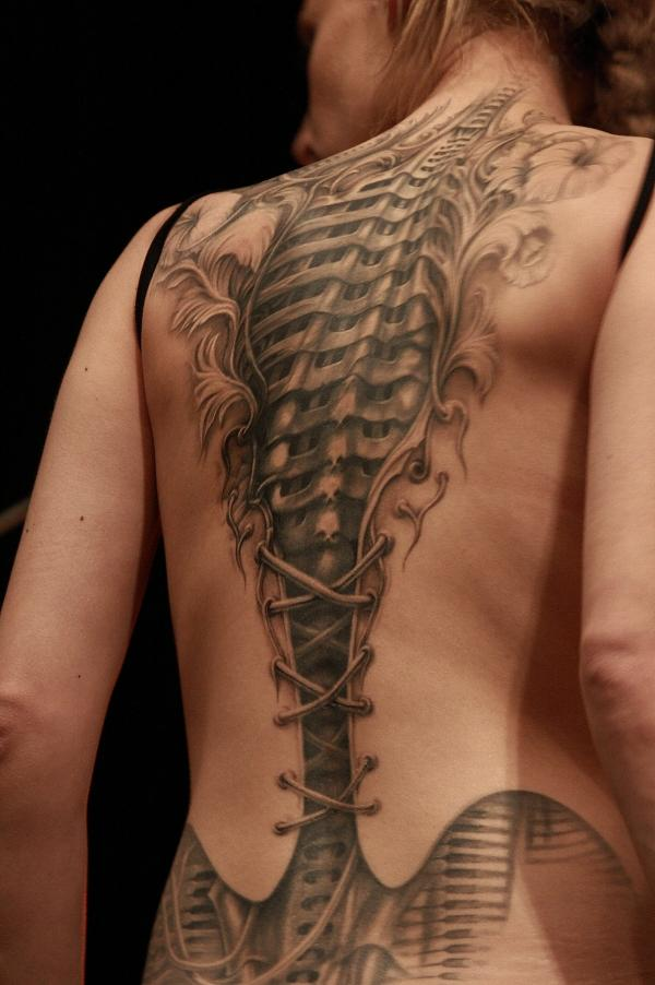 Women Back Tattoo Designs