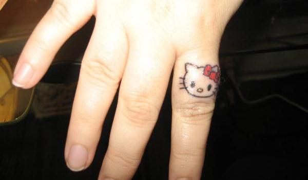 hello kitty tattoo 50 Stunning Tattoo Ideas For Women
