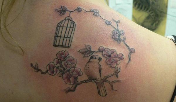 little birdy tattoo 50 Stunning Tattoo Ideas For Women