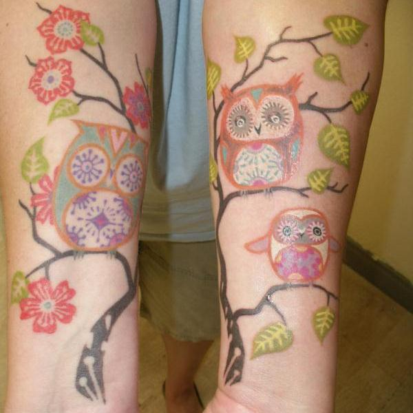 owls tattoo 50 Stunning Tattoo Ideas For Women
