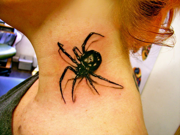 3d spider 160 Tattoos Pictures Which Are Marvelous