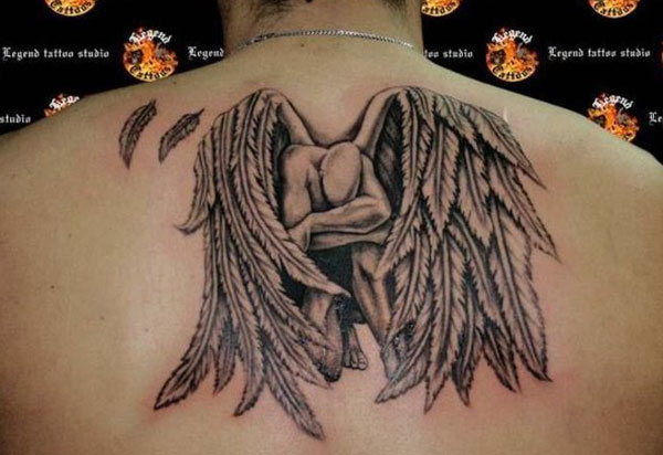 angel tattoo 160 Tattoos Pictures Which Are Marvelous