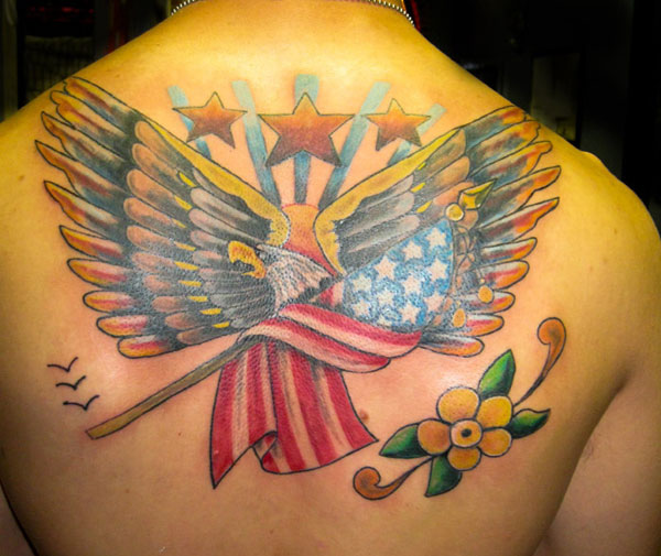 eagle old school 160 Tattoos Pictures Which Are Marvelous