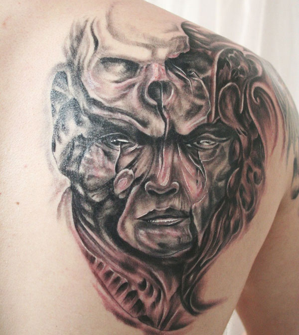 face skull 160 Tattoos Pictures Which Are Marvelous