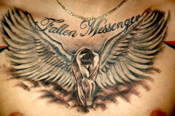 fallen messenger 160 Tattoos Pictures Which Are Marvelous