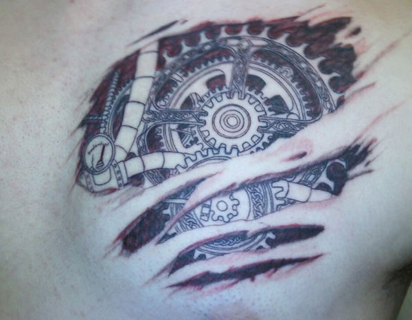 gear heart tattoo 160 Tattoos Pictures Which Are Marvelous