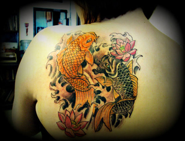 koi fish 160 Tattoos Pictures Which Are Marvelous