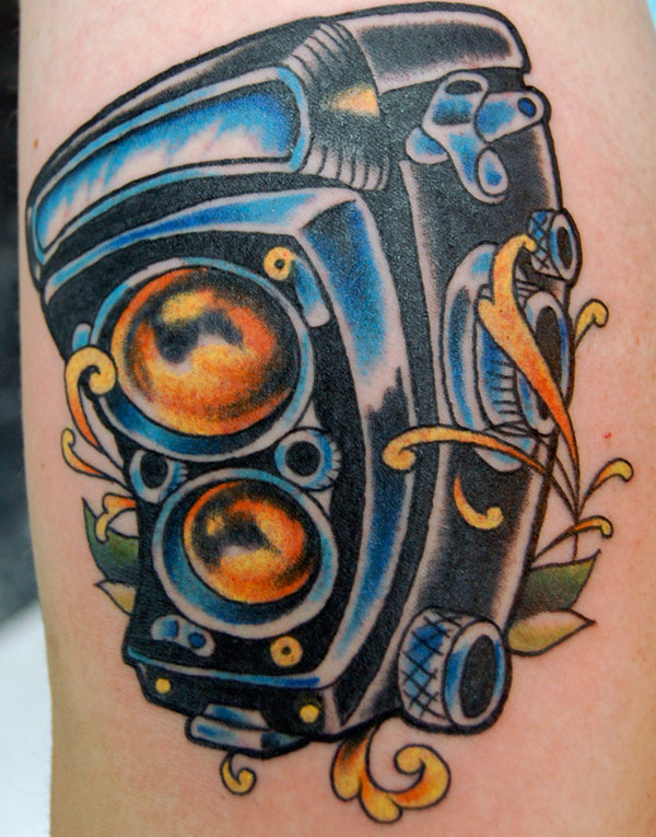 old school camera tattoo 160 Tattoos Pictures Which Are Marvelous