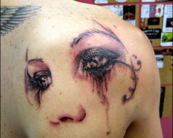 pretty eyes tattoo 160 Tattoos Pictures Which Are Marvelous