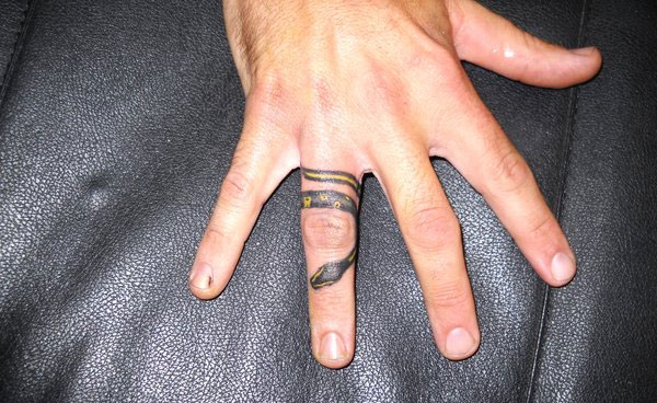 snake ring 160 Tattoos Pictures Which Are Marvelous