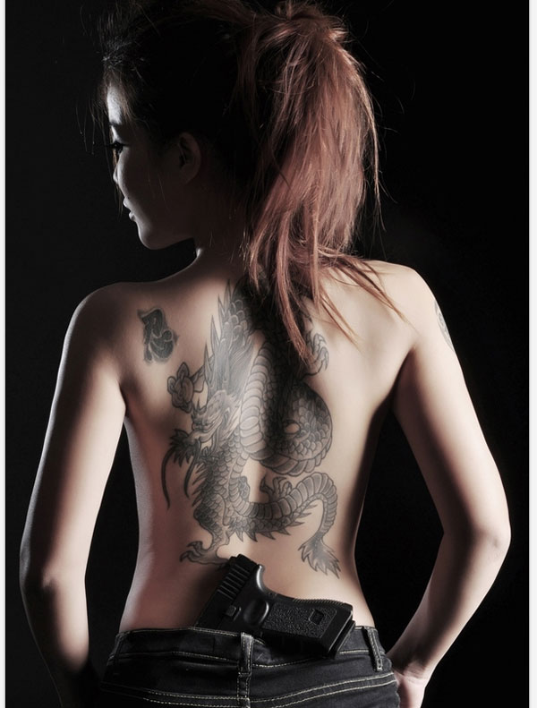 tattoo girl dragon 160 Tattoos Pictures Which Are Marvelous