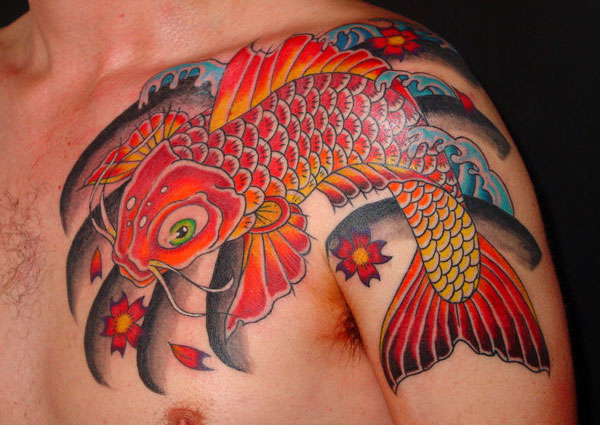 traditional koi 160 Tattoos Pictures Which Are Marvelous