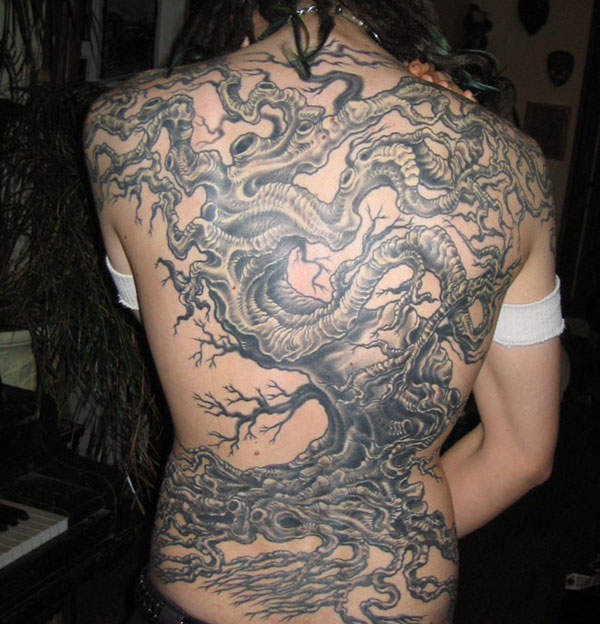 tree tattoo backpiece 160 Tattoos Pictures Which Are Marvelous