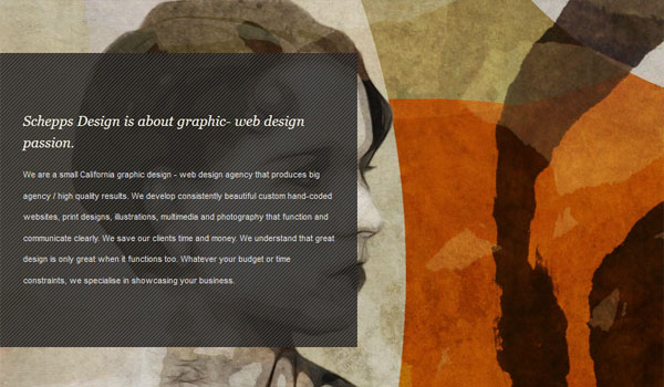 shepps designs 30 Inspiring Examples of Textures in Web Design