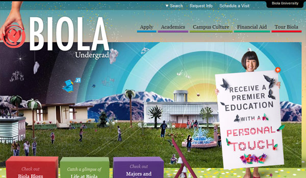 biola 30 University Website Designs