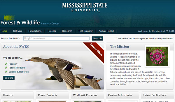 mississippi state university 30 University Website Designs