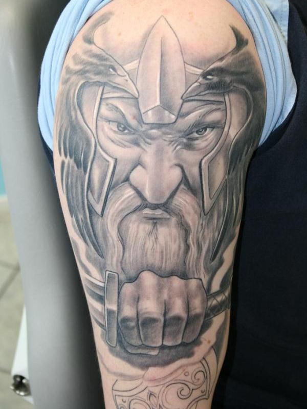 cool viking tattoo 30 Majestic Viking Tattoos