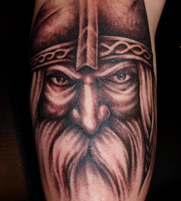 old viking 30 Majestic Viking Tattoos