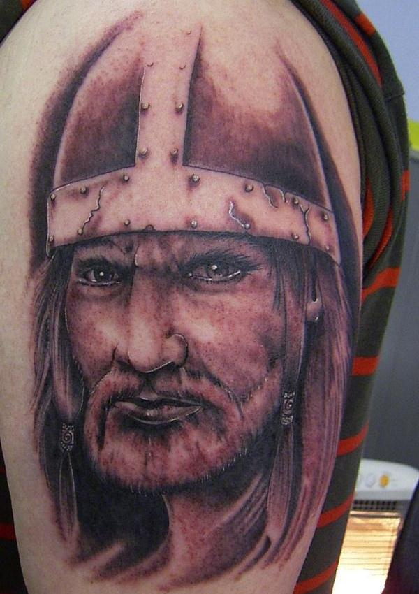 realistic viking tattoo 30 Majestic Viking Tattoos
