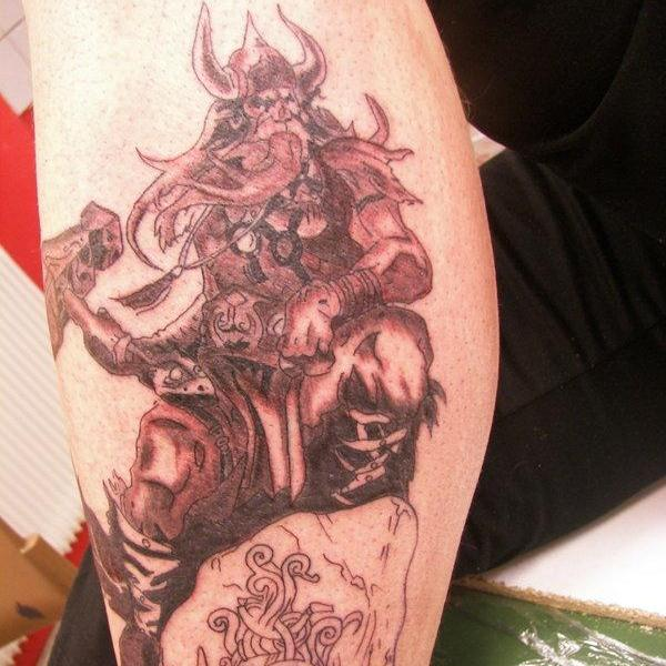 thor viking tattoo 30 Majestic Viking Tattoos